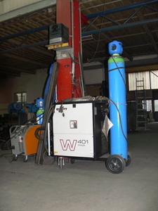 Schweißanlage MAG, EWM wassergekühlt