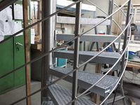 Edelstahl-Treppengeländer