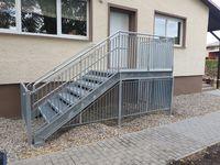 Fluchttreppe einer Kindertagesstätte