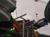 Stahlbau einer Rutschenanlage in Plettenberg