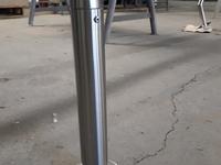 Steckbare Reeling für eine Spritzschutzwand